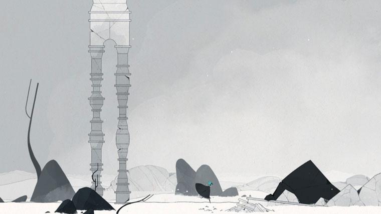 GRIS モノクロの世界