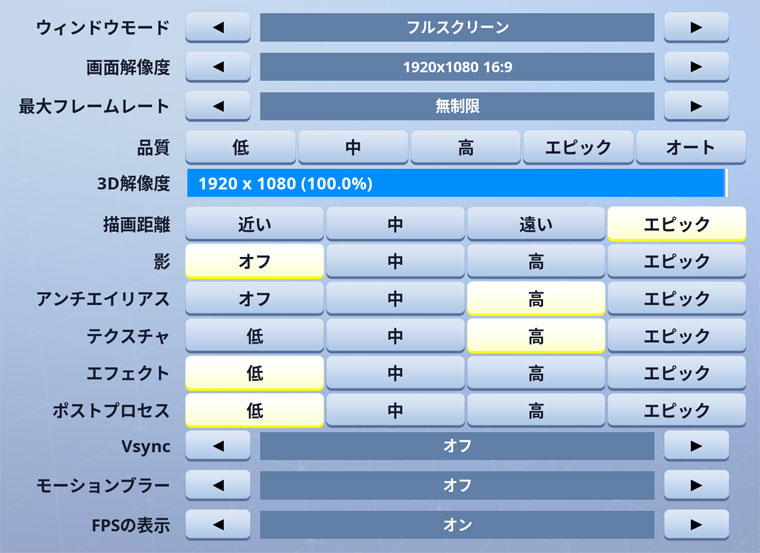 Fortnite Daequan グラフィック