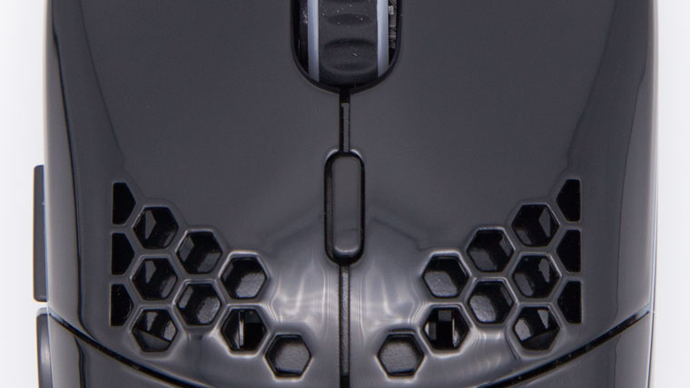 Model OのDPIボタン