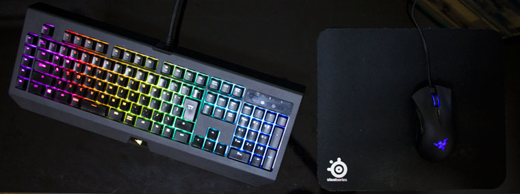 心地よい場所にキーボードを置けない