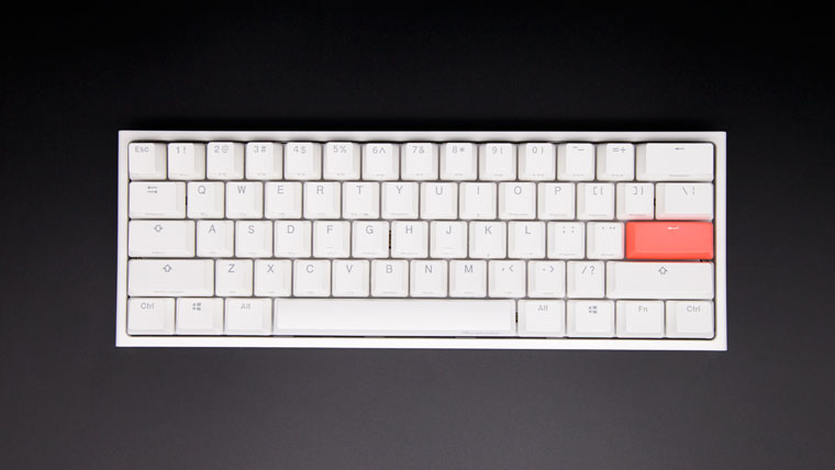 Ducky One 2 Mini Pure White RGB 60%