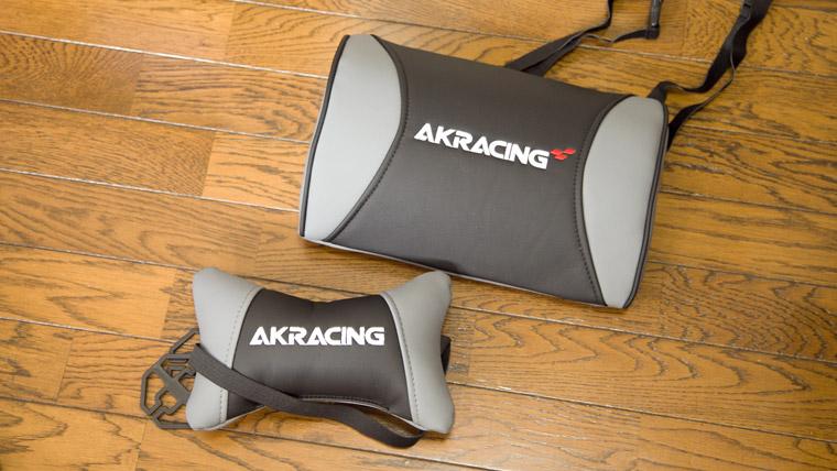 AKRACING PRO-X 組み立てパーツ