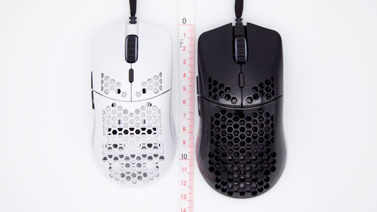 Model O-とModel Oのサイズ比較