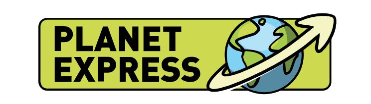 Planet Express ロゴ