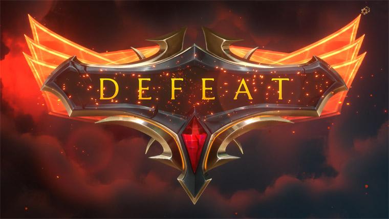 Legends of Runeterra Defeat