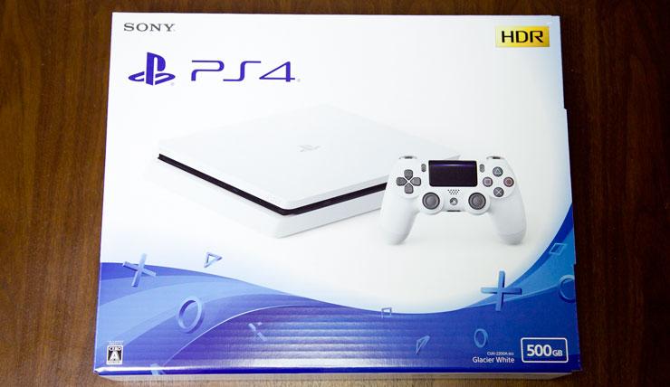 薄型PS4 - 化粧箱