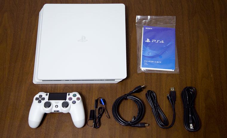 薄型PS4 - 同梱物