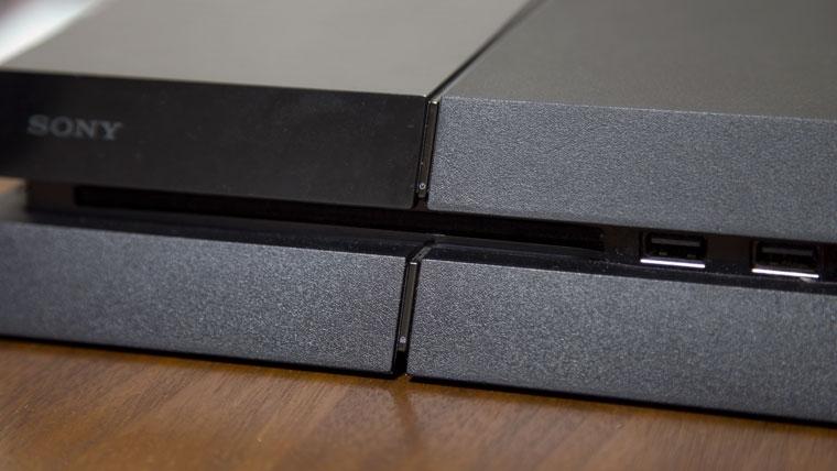 旧型PS4の電源位置