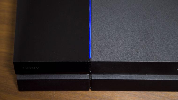 旧型PS4 - 青ランプ