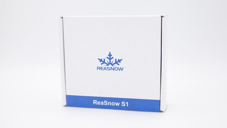 ReaSnow S1 - 外箱