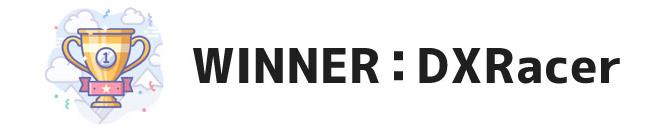 WINNER: DXRacer