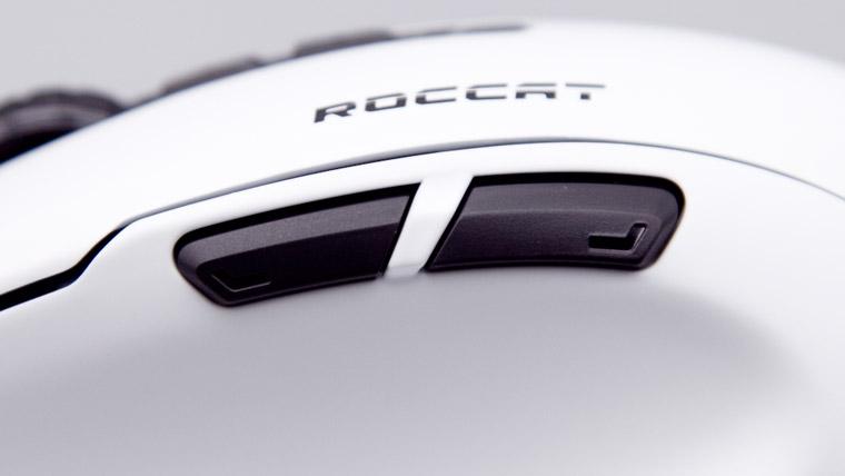 ROCCAT Kone Pure Ultra - サイドボタン