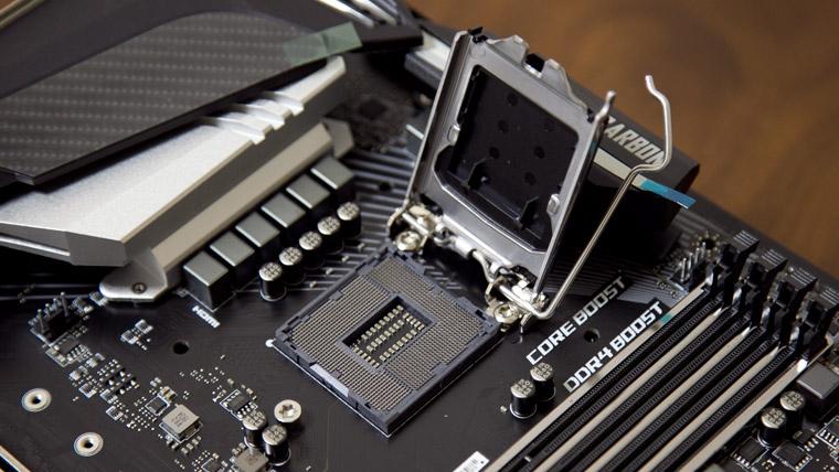 CPUスロットオープン