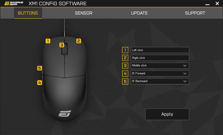 Endgame XM1 ソフトウェア