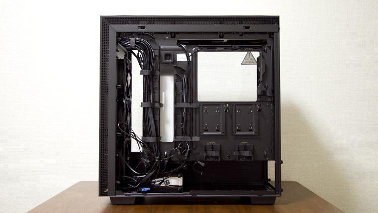 H700i ケーブルマネジメント