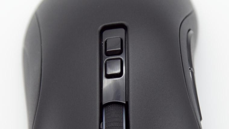 デスアダーV2 - ホイール下のボタン