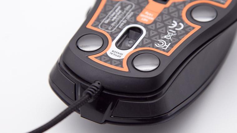 Lexip Np93 Alpha - センサーは前