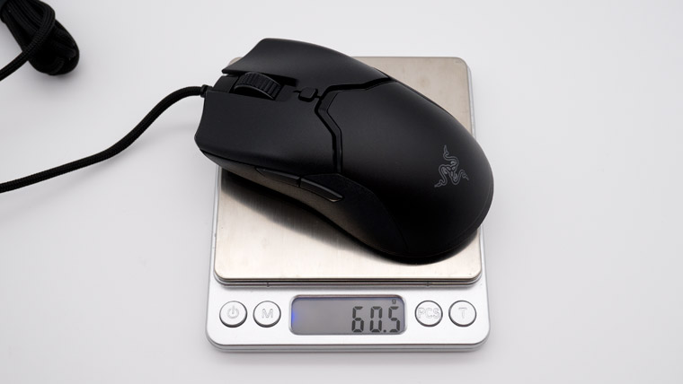 Razer Viper Mini - 実測