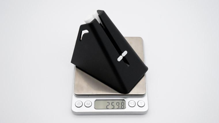重さは260g