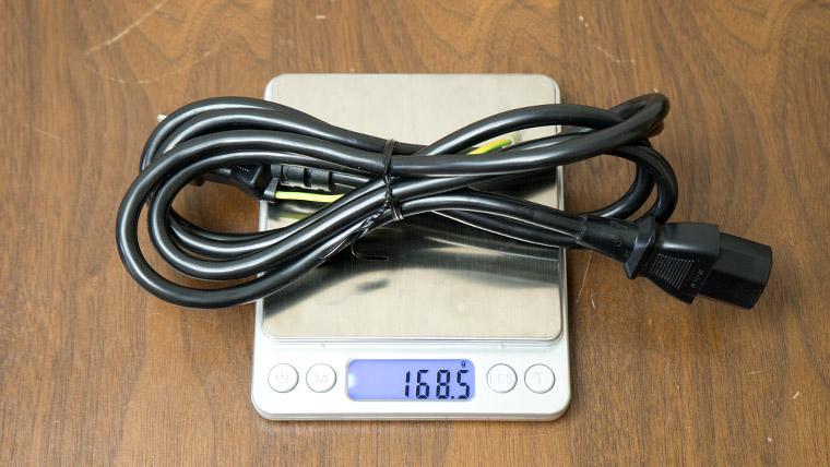 GALLERIA GCR2080RNF-E - アダプターの重さ2