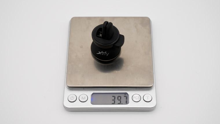 Xtrfy C1 - 重量