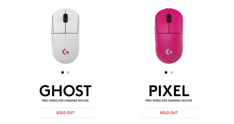 GHOSTとPIXELはSOLD OUT