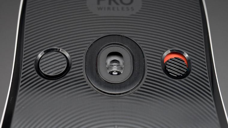 センサーと周りのボタン