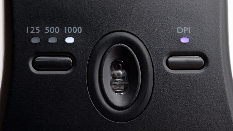 ポーリングレートとDPIボタン