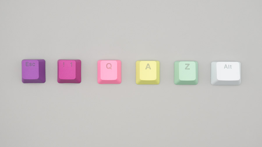 それぞれの色