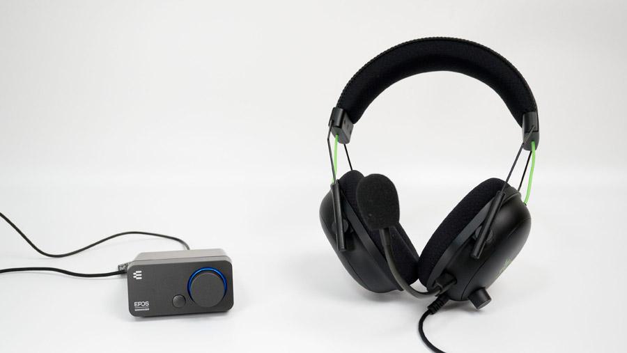 BlackShark V2 を GSX300で