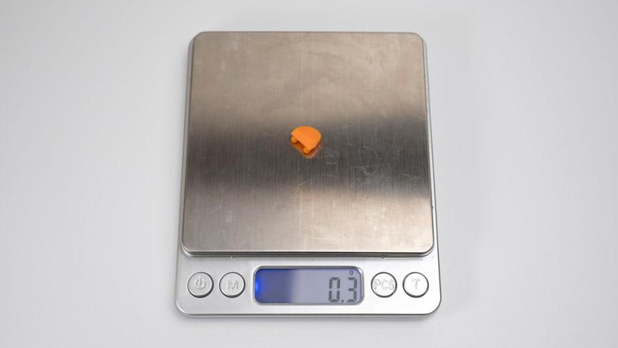 DPIボタンの重さ