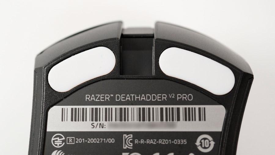 Razer DeathAdder V2 Pro マウスフィート
