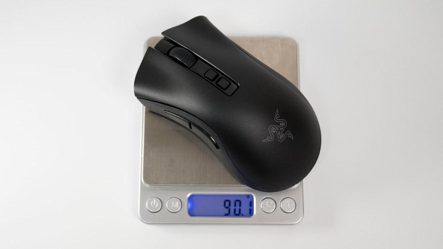 Razer DeathAdder V2 Pro 重量
