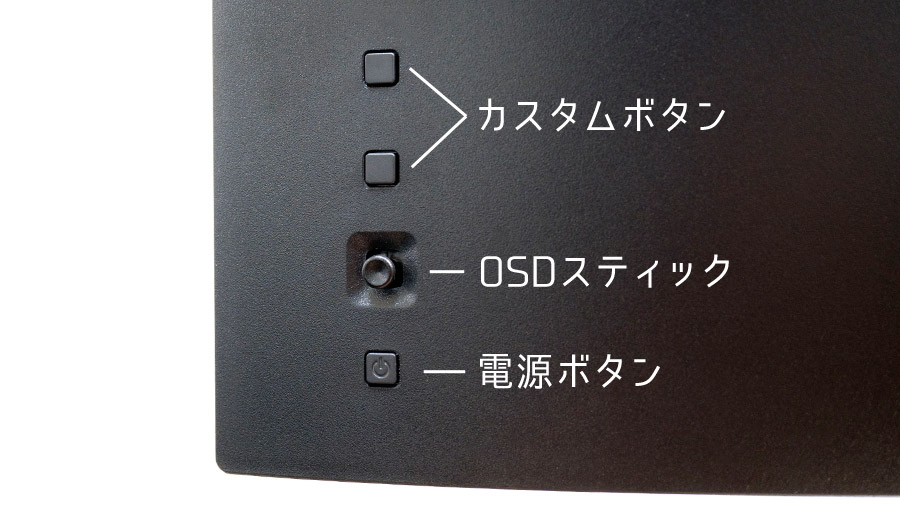EW3280U OSDボタン