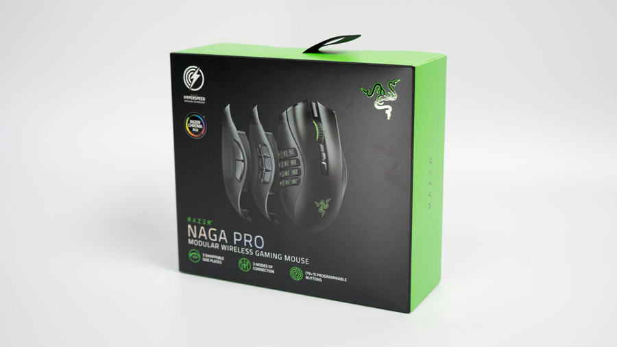 Razer Naga Pro 外箱
