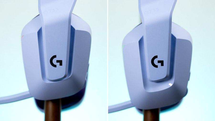 G733 スライダー可動域