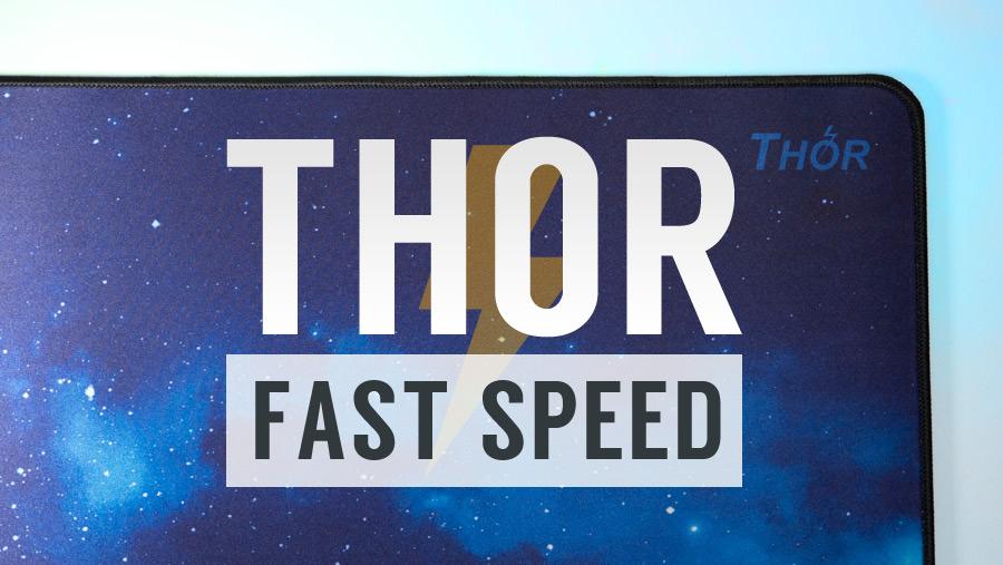 【レビュー】X-Raypad Thor - ギャラクシー級に滑るスピードタイプパッド