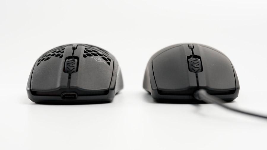 Aerox 3 と Rival 3 フロント