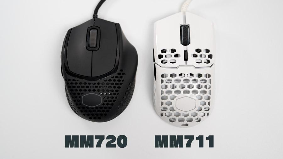 MM720とMM711の比較