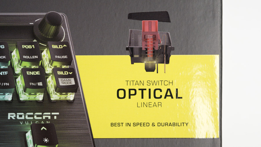 ROCCAT Vulcan TKL Pro 箱の表