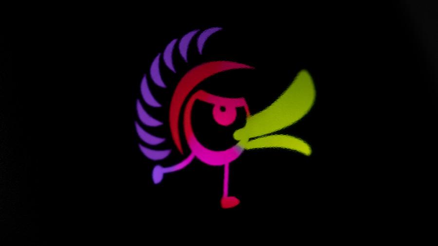 暗闇のロゴ