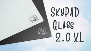 【レビュー】SkyPAD Glass 2.0 XL - 超滑らかなガラス製マウスパッド